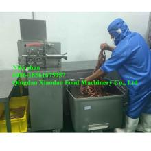 Wursthülle Hautentfernungsmaschine / Wurstschäler