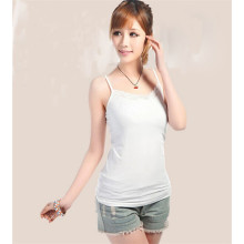 \ Vente en gros All-Match Casual Young Girls Front Lace Tank Tops 2015