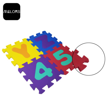 Tapete de jogo Melors Interlocking Jigsaw Foam Kids Puzzle Play