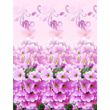 hot sale 100% polyester pigment printed fabric