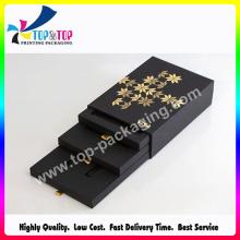 Fábrica de Shenzhen caja de papel de lujo cosméticos de lujo con cajón