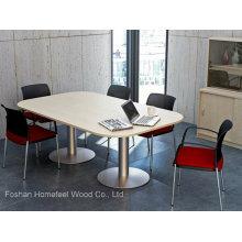 Table de conférence moderne de table de réunion de mélamine (HF-EMT002)