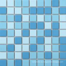 Mosaico pulido de la porcelana para la piscina
