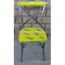 Chaise de restaurant Cross Cross industrielle