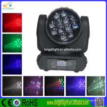 Professionelle Bühnenbeleuchtung 12 * 10W Quad LEDs Disco / DJ Sharpy Beam Moving Head Licht