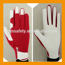 Wholesale Red Ladies Garden Pig Leather Gloves
