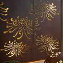 Laser Cut Mild Steel Fence
