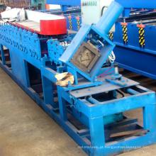 Auto china fabricante de aço prateleira de armazenamento rack de feixe rolo dá forma à máquina