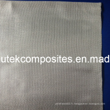 Tissu à haute teneur en température de fibre de verre en silice
