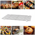 Multi-Purpose Round Stainless Steel Cross Wire Steaming Cooling Rack Carbon Baking Net Grill Pan Grate