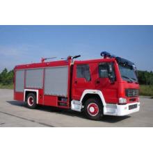 HOWO 4 * 2 Водный и пенный пожарный (ZZ1167M4617C)