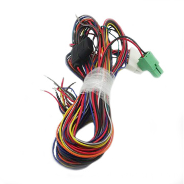 Wire harness with automotive fuse
