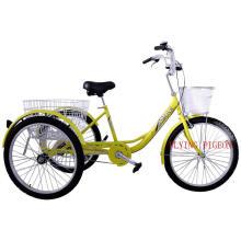 China pedal de fábrica assistida triciclo de carga (FP-TRB-J04)