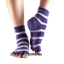 Grossiste personnaliser qualité intérieure Yoga anti-dérapant chaussettes