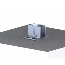 Simple Solutions Adjustable Concrete Roof Solar Panel Mounting Structure