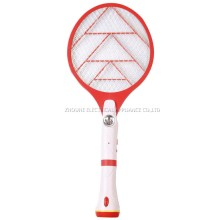 asesino del mosquito solar del swatter electrónico del mosquito con la antorcha