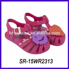 summer beach smile face kids jelly sandals children jelly sandals jelly sandals
