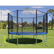in Stock Wholesale Super Bungee Fitness Adult Hexagon Outdoor Trampoline