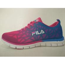 Confort ocio brillante color calzado para señoras