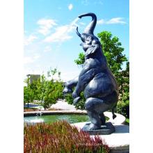 High quality aluminium elephant figure