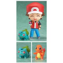 Customized Pokemon PVC Mini Action Figure Doll Kids Manufacture Toys