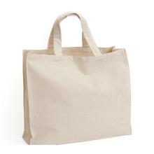 Saco de algodão 100% orgânico reutilizável