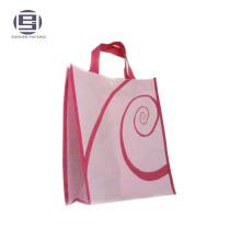 Laminated non woven foldable reusable shopping bags