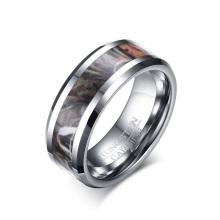 Atacado anéis de carboneto de tungstênio promessa para homens