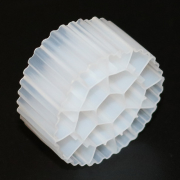 100% Virgin HDPE PE01 Plastik Bio Filter MBBR Media