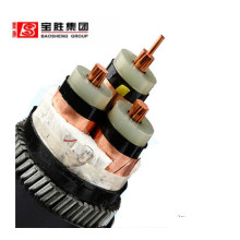 high voltage single core insulated xlpe armoured power cable