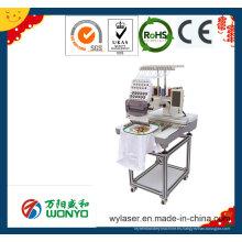Máquina comercial del bordado / solo casquillo principal / sombrero / insignia / camiseta Máquina computarizada del bordado Wy1201CS / Wy1501CS
