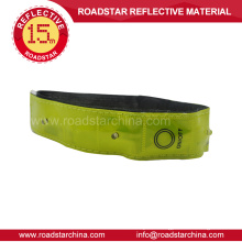 Hi vis Led reflective hook and loop armband