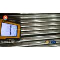 Aço inoxidável Bright recozido tubo ASTM A249 TP304