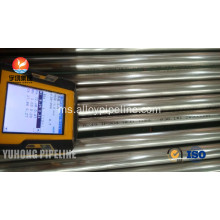 Bright keluli tahan karat Annealed Tube ASTM A249 TP304