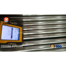 Recocido de brillante acero inoxidable tubo ASTM A249 TP304