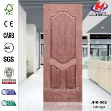 JHK-S02 Diseño superior Buena calidad Entrada moldeada Hoja de puerta de madera de palisandro