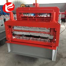 Doppellagige galvanisierte Metalldachbahnmaschine