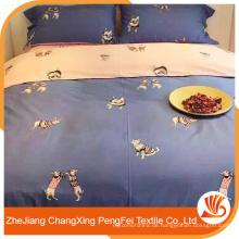 China Lieferant neuesten Design schöne Tier Bett Blatt für Verkauf