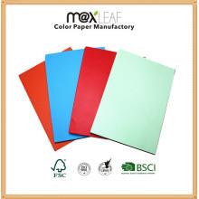 Papier de couleur claire A4 pour impression et copie de bureau