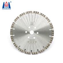 Turbo segment laser welding small size diamond cutting disc