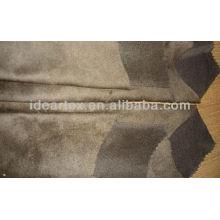 Doble urdimbre tela de Micro del ante para el sofá