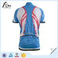 Китай завод Джерси Custom Blank Blue Велоспорт одежда