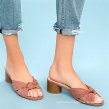 2018 fashion ladies flat slippers for beach slipper woman slipper
