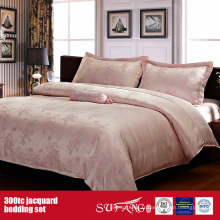 300TC Jacquard Wholesale Bedding Set Hotel Best Bedding Set