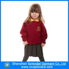 Shenzhen Großhandel Mädchen Red Kindergarten Uniform für Schule