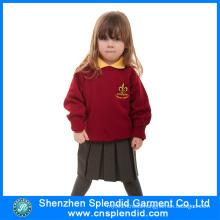Shenzhen Wholesale Girls Red Kindergarten Uniform for School