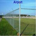 clôture à mailles losangées en forme de losange