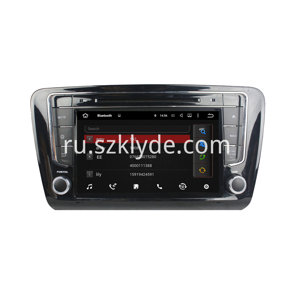 android car DVD for Skoda Octavia 2015