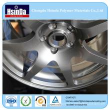 Revêtement électrostatique de poudre de jet de poudre d'effet métallique pour des pièces d'auto