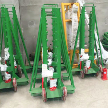 Heavy Load Hydraulic Cable Reel Stand Cable Drum Jack Support